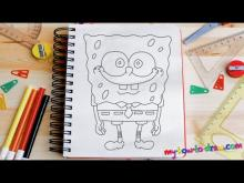 Embedded thumbnail for How to draw Spongebob Squarepants - Easy step-by-step