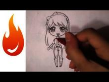 Embedded thumbnail for How to Draw a Chibi Anime Girl Character Tutorial