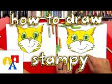 How to draw kitten drawings ideas for kids embedded thumbnail for how to draw stampy altavistaventures Image collections