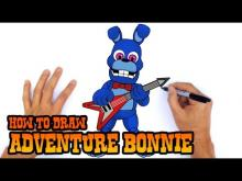 Embedded thumbnail for How to Draw Adventure Bonnie