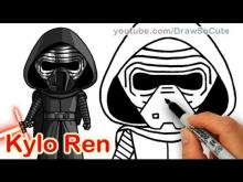 Embedded thumbnail for How to Draw Star Wars Kylo Ren