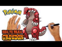 Embedded thumbnail for How to Draw Groudon