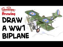 Embedded thumbnail for How to Draw a WWI Biplane