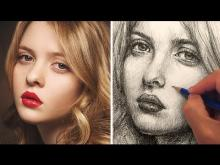Embedded thumbnail for How to Draw a Pretty Face with Pencil