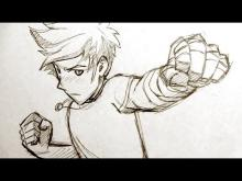 Embedded thumbnail for How to Draw Manga Fighting Pose