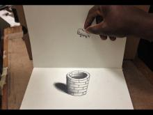 Embedded thumbnail for Cool 3D Trick Art