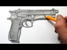 Embedded thumbnail for How to Draw a Gun Quick Sketch