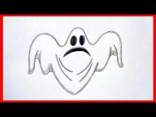 Embedded thumbnail for How to draw a ghost. Halloween stuff
