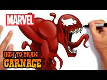 Embedded thumbnail for How to Draw Carnage- Step by Step