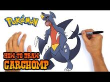 Embedded thumbnail for How to Draw Garchomp (Pokemon)- Easy Art Lesson