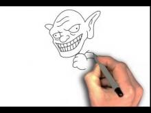 Embedded thumbnail for How to draw Goblin from Clash of Clans step by step