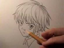 Embedded thumbnail for How To Draw Manga Hair: Boys