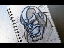 Embedded thumbnail for Warm-Up Sketch: Thanos
