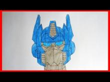 Embedded thumbnail for How to draw Optimus Prime, Transformers