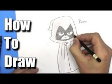 Embedded thumbnail for How to Draw Raven from Teen Titans Go!