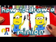 Embedded thumbnail for How To Draw A Minion