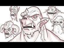 Embedded thumbnail for How to Draw Demons