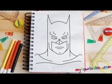 Embedded thumbnail for How to draw Batman - Easy step-by-step