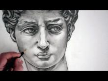 """Embedded thumbnail for How to Draw a Face: Michelangelo's """"David"""""""