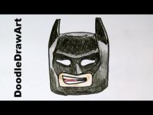 Embedded thumbnail for How To Draw Lego Batman Step by Step