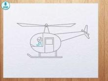 Embedded thumbnail for How to draw helicopter