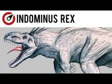 Embedded thumbnail for How to Draw a Dinosaur. Indominus Rex