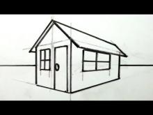 Embedded thumbnail for How to Draw a House in 3D for Kids