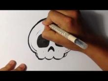 Embedded thumbnail for How to Draw a Cute Skull - Halloween Drawings