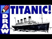 Embedded thumbnail for How to draw the Titanic