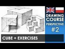 Embedded thumbnail for Drawing tutorial - Cube