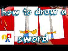 Embedded thumbnail for How To Draw A Sword With A Ruler
