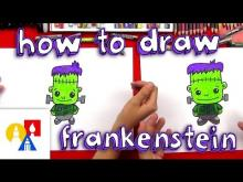 Embedded thumbnail for How To Draw A Cartoon Frankenstein