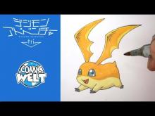 Embedded thumbnail for How to draw Patamon