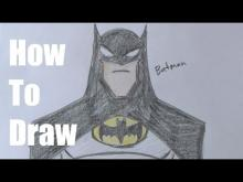 Embedded thumbnail for How To Draw The Batman Easy Version