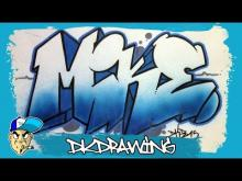 Embedded thumbnail for How to draw graffiti names