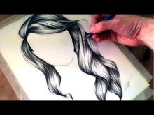 Embedded thumbnail for How to Draw Wavy Hair