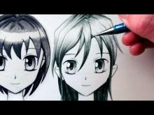 Embedded thumbnail for How to Draw a Manga Face