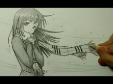 Embedded thumbnail for How to Draw a Manga Girl with a Scarf