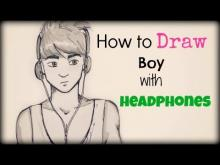 Embedded thumbnail for How to Draw a Boy with Headphones