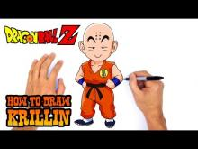 Embedded thumbnail for How to Draw Krillin