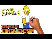 Embedded thumbnail for How to Draw Homer Simpson- Step by Step
