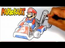 Embedded thumbnail for How to Draw Mario from Mario Kart