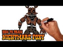 Embedded thumbnail for How to Draw Nightmare Foxy