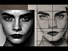 Embedded thumbnail for EASY WAY TO DRAW A REALISTIC FACE