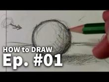 Embedded thumbnail for Learn To Draw - 01 Sketching Basics