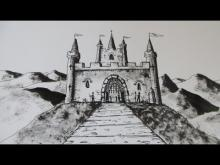 Embedded thumbnail for How to Draw a Castle: Step by step