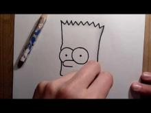 Embedded thumbnail for 2nd drawing: Bart Simpson