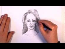 Embedded thumbnail for How to Draw a Woman Face With Pencil
