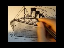 Embedded thumbnail for How to draw the Titanic in Pencil