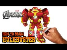 Embedded thumbnail for How to Draw Hulkbuster (Avengers)- Step by Step
